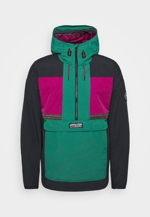 DOME - Snowboardová bunda - antique green