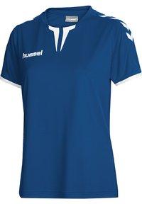 Hummel - CORE SS - Print T-shirt - true blue pr - 2