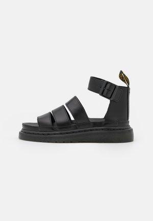 CLARISSA LI - Korkeakorkoiset sandaalit - black