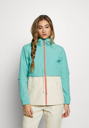 WOMEN'S NARRAWAY JACKET - Waterproof jacket - buoy blue/creme brulee