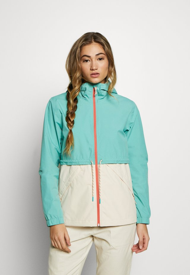 WOMEN'S NARRAWAY JACKET - Vodotěsná bunda - buoy blue/creme brulee