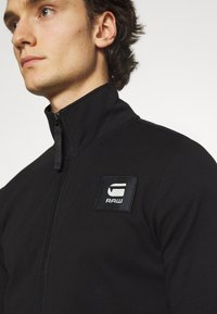 G-Star - ZIP THROUGH TRACK TWEETER - Träningsjacka - black - 5