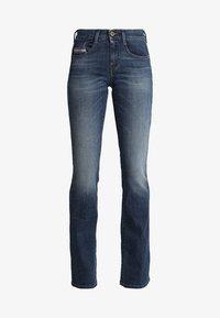 Diesel - D-EBBEY - Bootcut jeans - indigo - 4