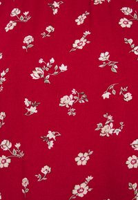 Hollister Co. - TRIFECTA MIDI - A-line skirt - red floral - 2