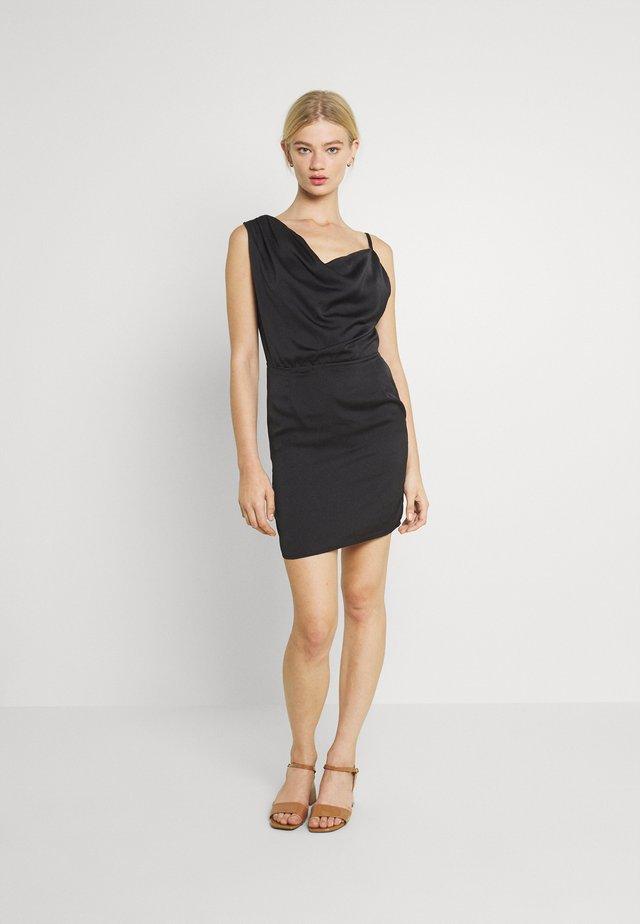 SAMIA DRESS - Cocktailjurk - black