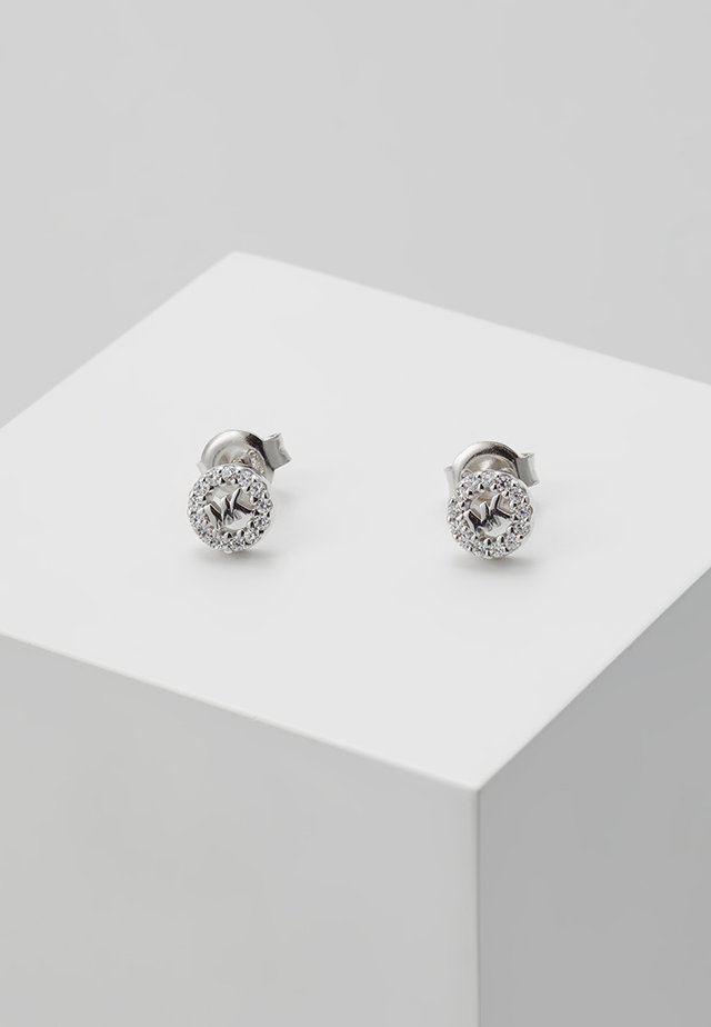 PREMIUM - Earrings - silver-coloured