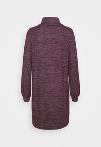 GAP Petite - TURTLENECK DRESS - Strikket kjole - secret plum - 6