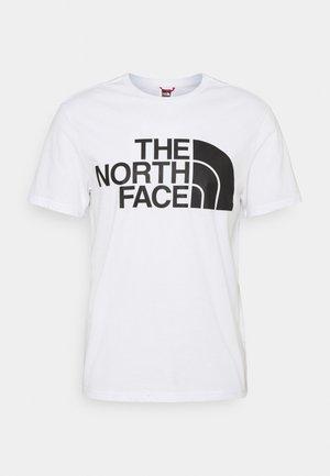 STANDARD TEE - Print T-shirt - white
