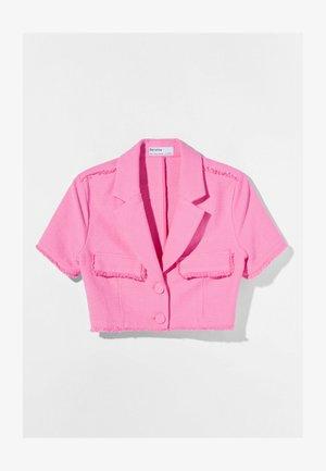 Summer jacket - neon pink