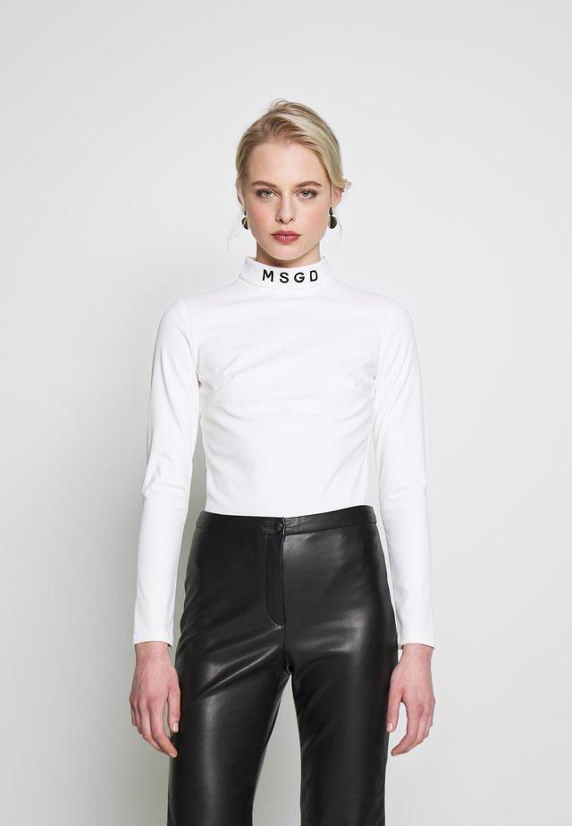 SKI BODY SUIT - Maglietta a manica lunga - white