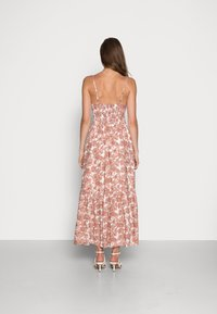 Abercrombie & Fitch - RESORT BUTTON DRESS - Maxi dress - pink - 2