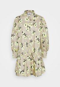 EDITED - RYLEE DRESS - Shirt dress - beige/mischfarben - 5