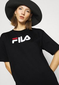 Fila - SATINKA TEE DRESS - Jersey dress - black - 3