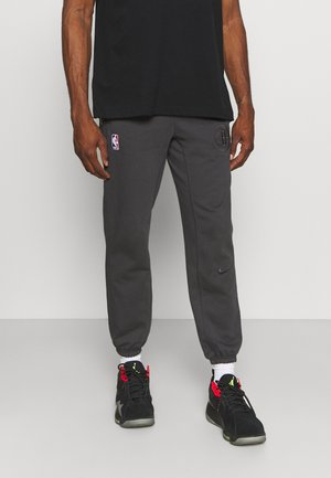 NBA BROOKLYN NETS STANDARD ISSUE PANT - Squadra - anthracite/pale ivory
