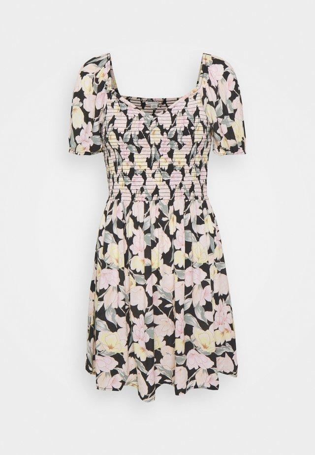 PRINTED SMOCKED PUFF - Day dress - multi