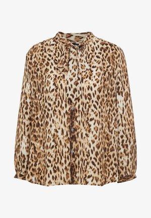 GAINS SECRETARY BLOUSE AMY  - Button-down blouse - leopard