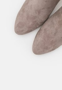 Anna Field - LEATHER - Ankle boots - grey - 5