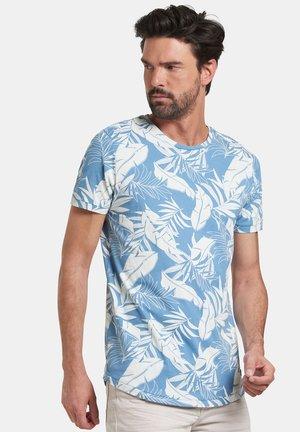 TRISTAN - Print T-shirt - blue