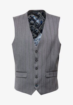 TENNANT SUIT - Suit waistcoat - grey