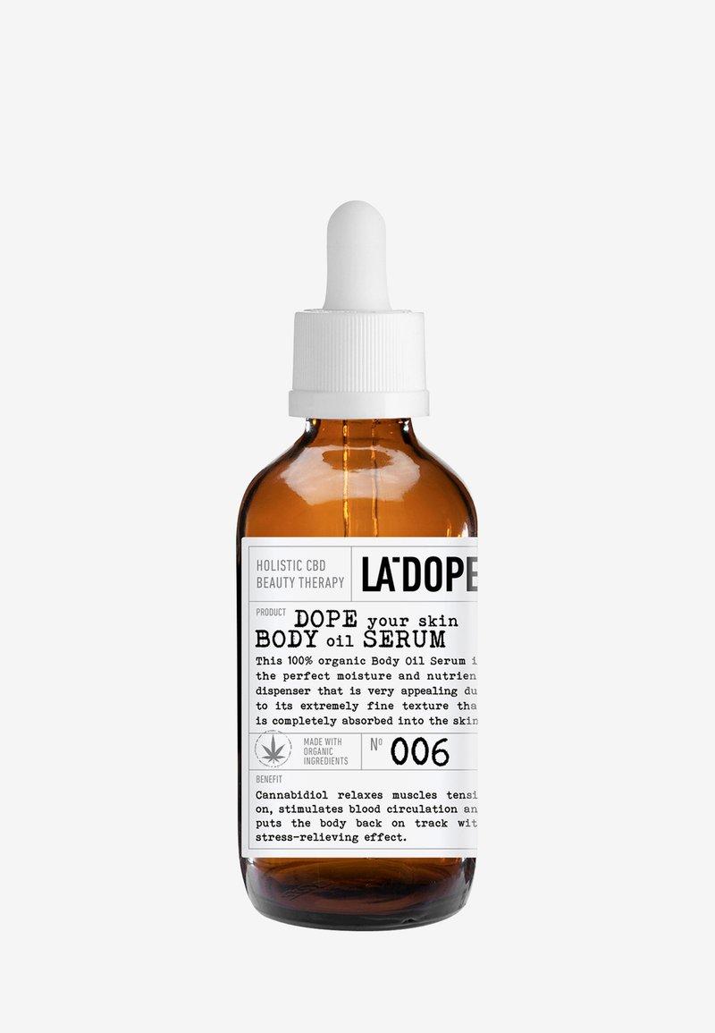 LA DOPE - CBD BODY OIL SERUM 006 - Body oil - -