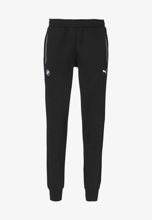 BMW M MOTORSPORT KNITTED MEN'S SWEATPANTS MALE - Pantalon de survêtement - black