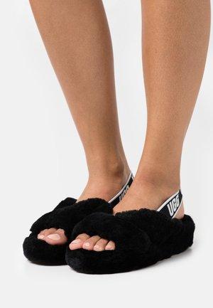 FAB YEAH - Pantoffels - black