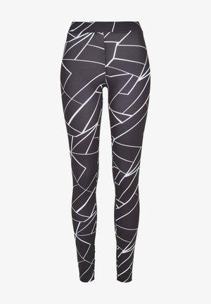 Leggings - geometric black