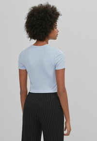 Bershka - T-shirt print - dark blue - 2