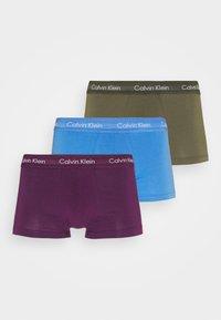 Calvin Klein Underwear - LOW RISE TRUNK 3 PACK - Culotte - blue - 4