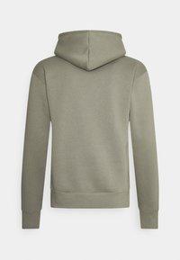 Nike SB - ICON HOODIE UNISEX - Hoodie - light army/black - 1
