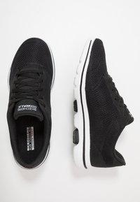 Skechers Performance - GO WALK 5 LUCKY - Sportieve wandelschoenen - black/white - 1