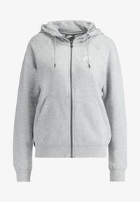Nike Sportswear - Sweatjacke - grey heather/white - 3