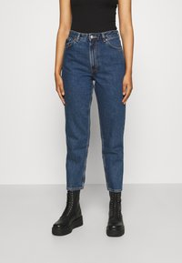 Monki - TAIKI LA LUNE - Straight leg jeans - blue medium dusty - 0