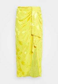 River Island - Jupe trapèze - yellow bright - 4