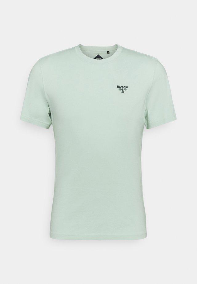 SMALL LOGO TEE - Basic T-shirt - dusty mint