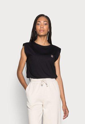 KARELA - Print T-shirt - black