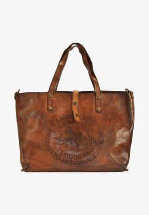 FAGGIO - Tote bag - cognac