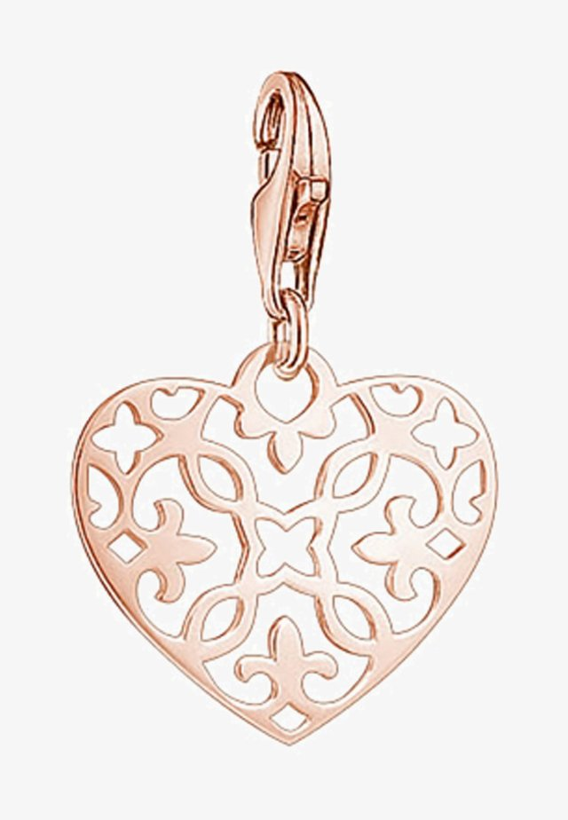 Pendant - rosegold-coloured