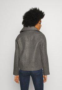 JDY - JDYTEA SHORT JACKET - Light jacket - dark grey melange - 2