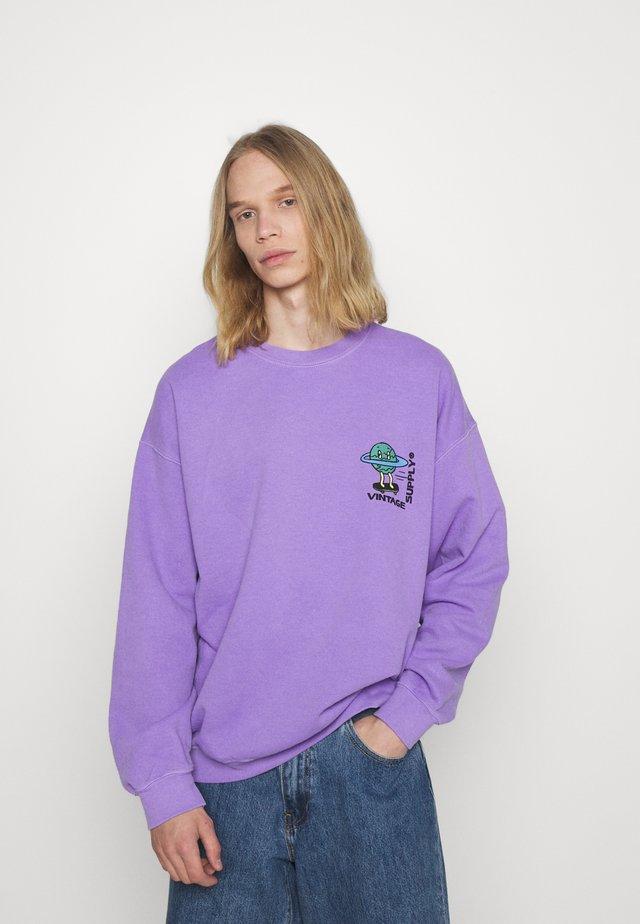 OVERDYE BRANDED  - Bluza - lilac