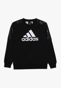 adidas Performance - ID CREW - Sudadera - black/white - 0