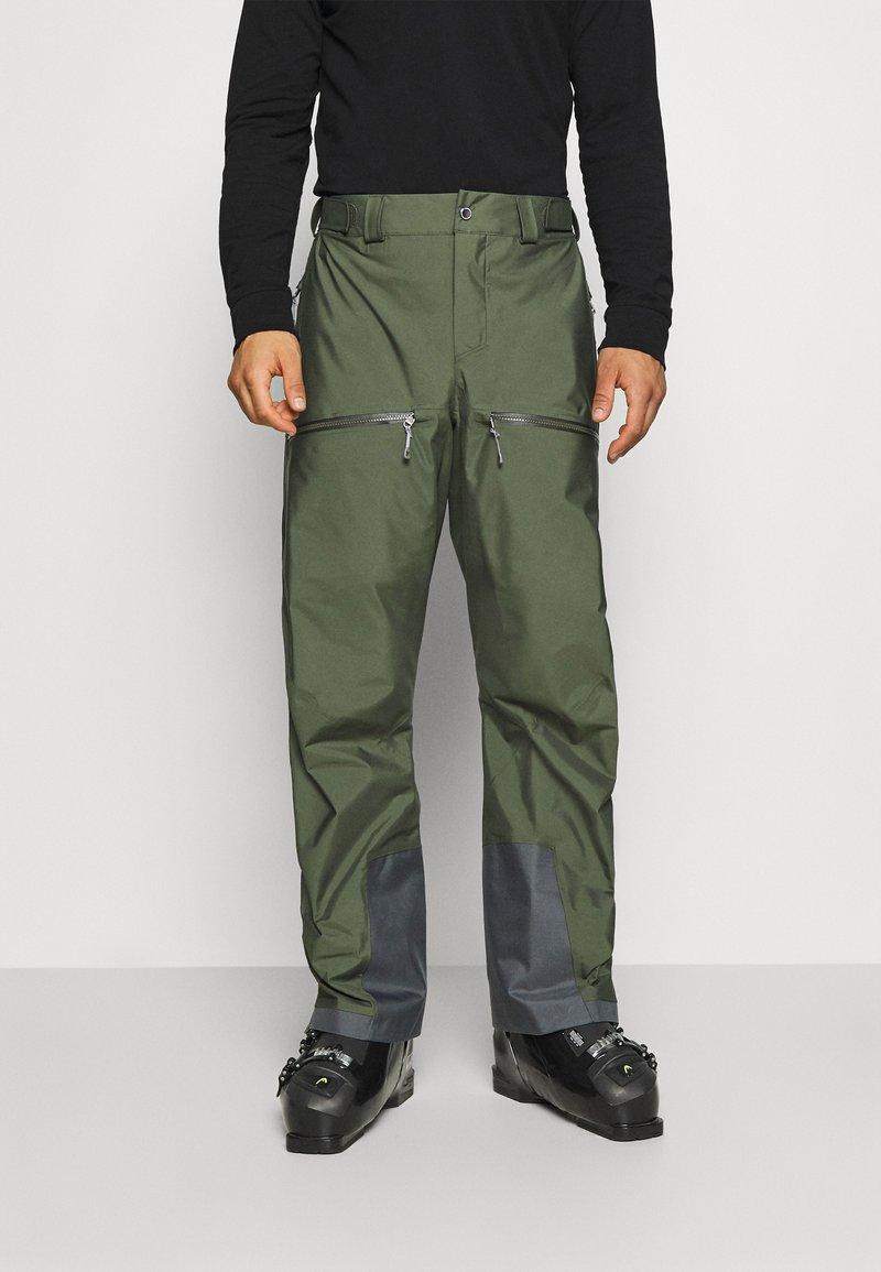 Houdini - PURPOSE PANTS - Pantalon de ski - utopian green