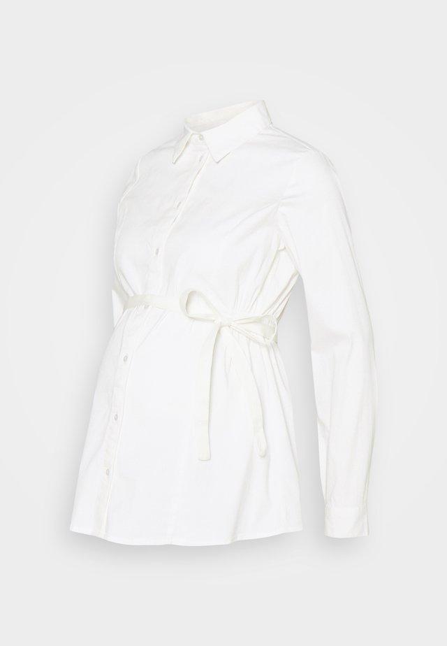 MLNIKOLINA WOVEN SHIRT - Overhemdblouse - bright white