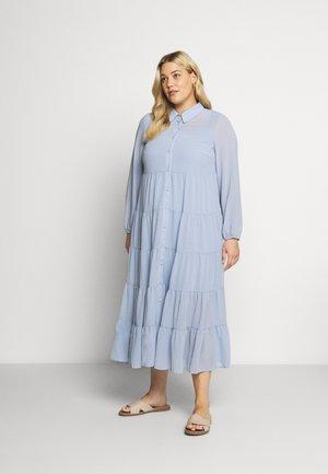 MILUNA DRESS - Skjortekjole - forever blue
