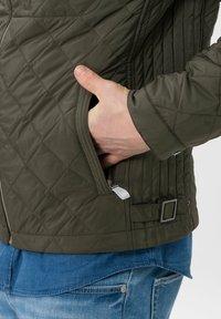 BRAX - STYLE BRUCE  - Light jacket - olive - 4