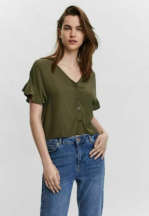 Blusa - ivy green