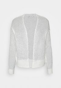 Abercrombie & Fitch - LOUISE OPEN STITCH  - Cardigan - white - 5