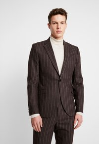 Shelby & Sons - HYTHE SUIT - Traje - brown - 2