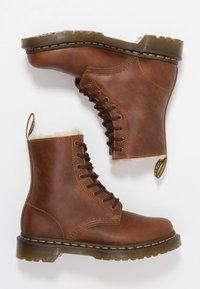 Dr. Martens - 1460 SERENA - Lace-up ankle boots - butterscotch orleans - 3