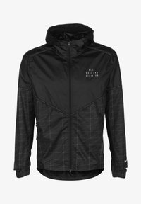 Nike Performance - M NK RUN DVN SHIELD FLASH JKT - Sports jacket - black / reflective silver - 0